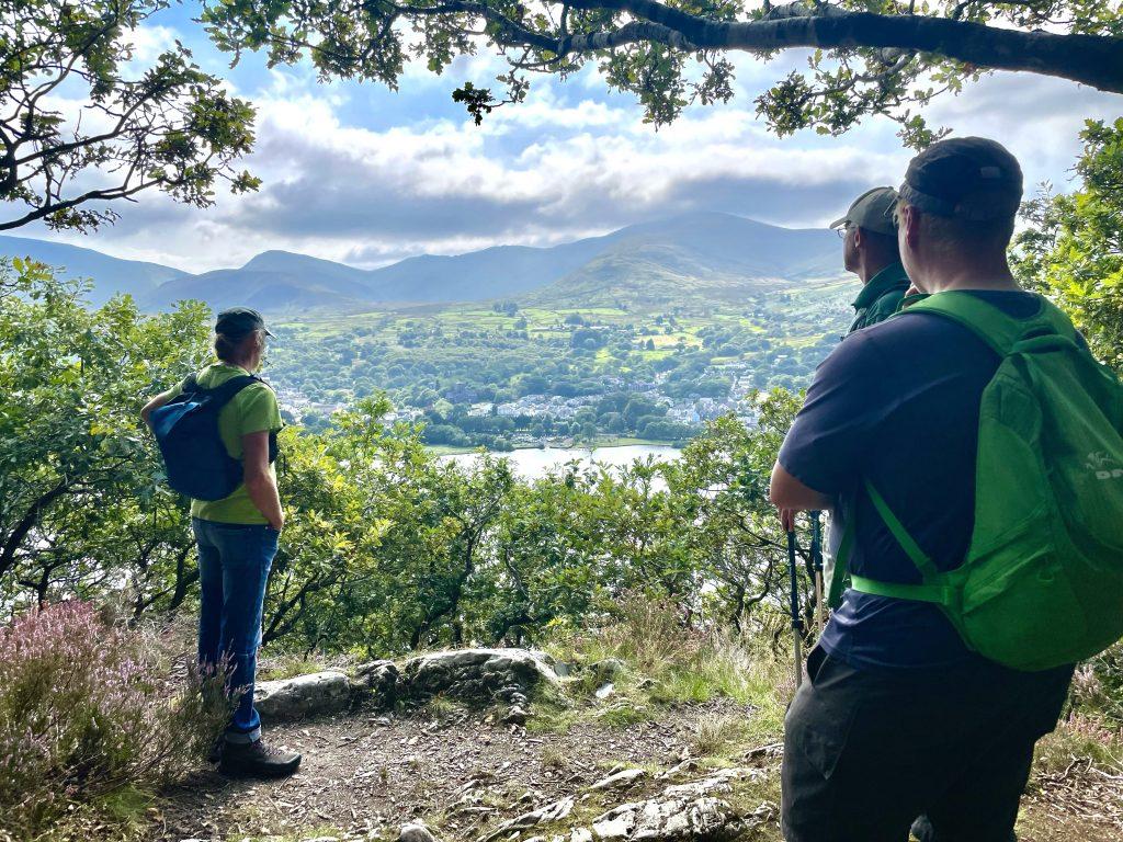 View over Llyn Padarn, Snowdonia